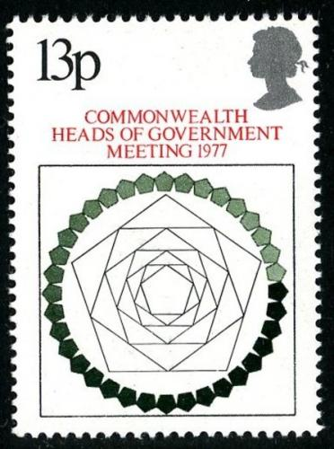 1977 Head of Government 13p