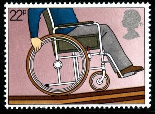 1981 Disabled 22p