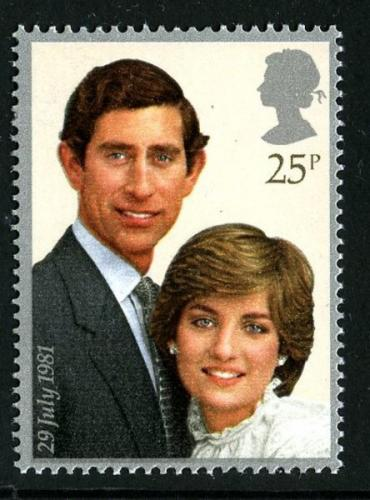 1981 Royal Wedding 25p