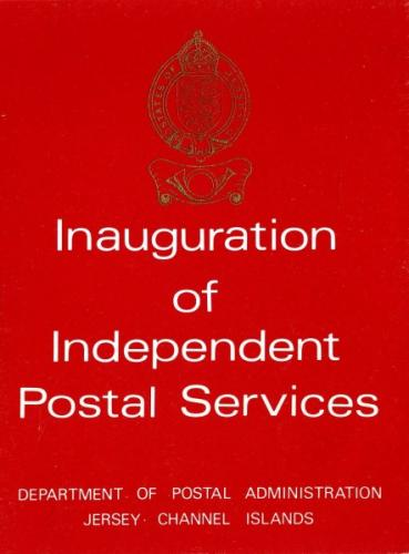 1969 Inauguration of Jersey Post Office pack