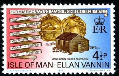 1975 Manx Pioneers in Cleveland 4½p