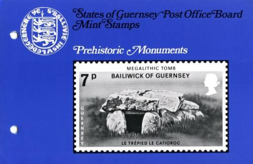 1977 Prehistoric Monuments pack