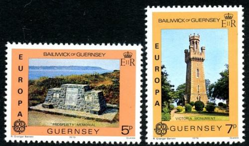 1978 Europa Monuments