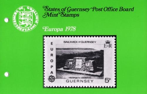 1978 Europa Monuments pack