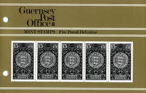 1979 £5 Definitive pack