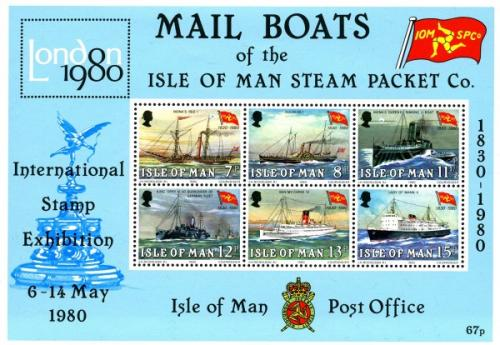 1980 Isle of Man Steam Packet Ships MS