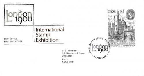 1980 London Stamp Exhibition