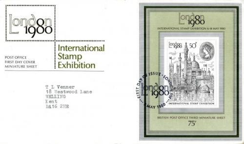 1980 London Stamp Exhibition MS