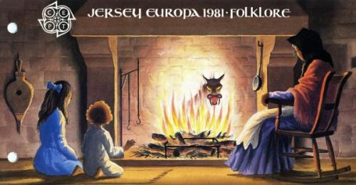 1981 Europa Folklore pack