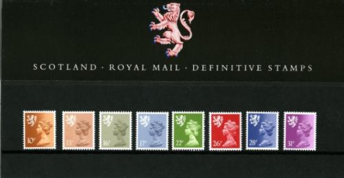 1984 Scotland Regional Pack No 6