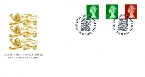 1985 29th October  7p,12p royal mail cover