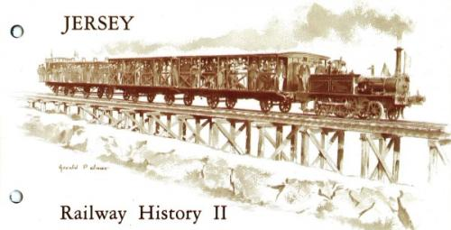 1985 Jersey Railway History ( 2ns serries) pack