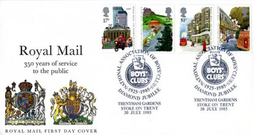 1985  150 Years of Royal Mail