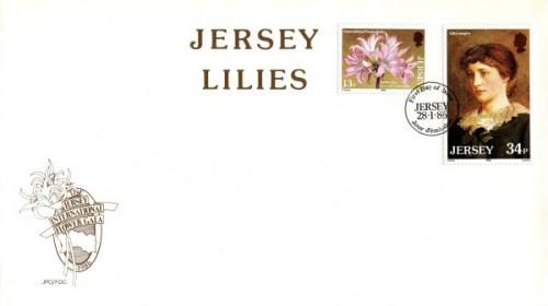 1986 Jersey Lilies
