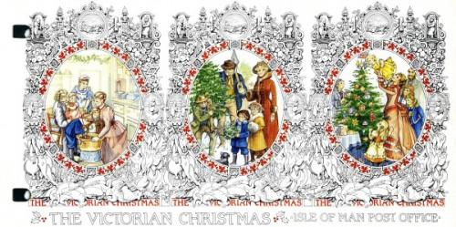 1987 Christmas Victorian Scenes pack