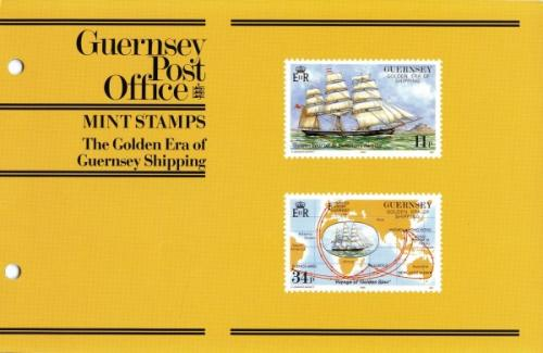 1988 Guernsey Ships pack