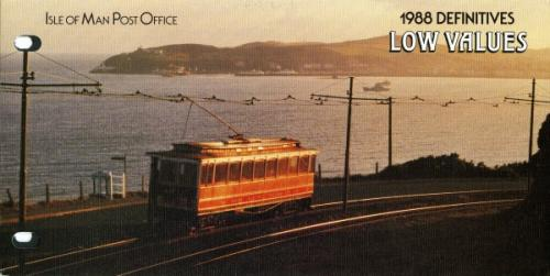 1988 Manx Railways low values pack