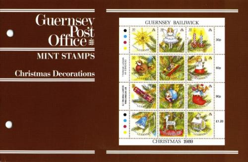 1989 Christmas Decorations pack