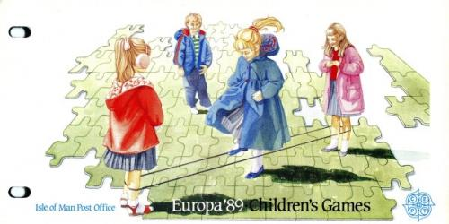 1989 Europa Childrens Games pack