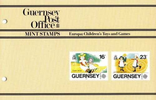 1989 Europa Toys & Games pack