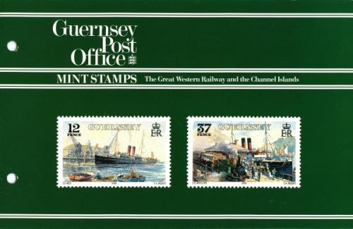 1989 Great Western Railway Steamboats pack