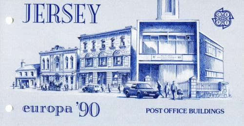 1990 Europa Post Office Building pack