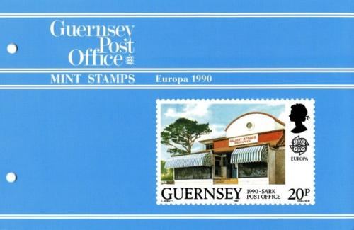 1990 Europa Post Office pack