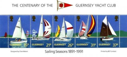 1991 Guernsey Yaght Club MS
