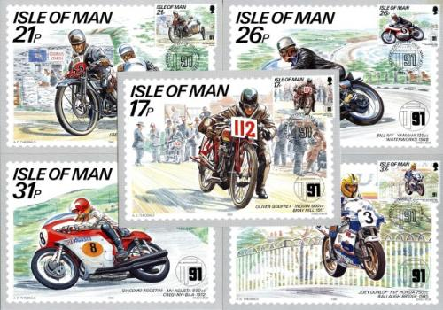 1991 TT Races Cards