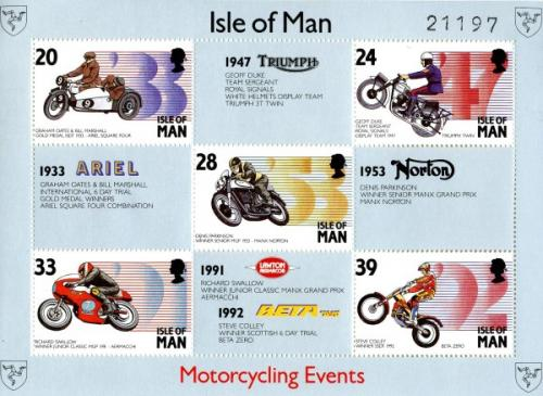 1993 Manx Motorcycle Events MS