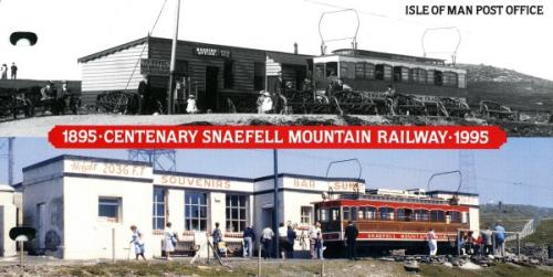 1995 Steam Mountain Railway pack