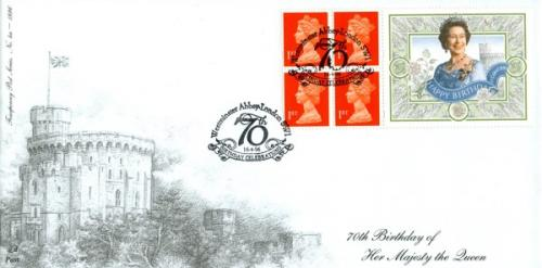 1996 16th April Queens Birthday Commemorative Label Booklet