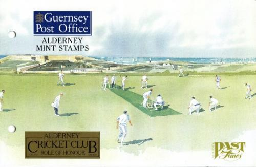 1997 Alderney Cricket pack