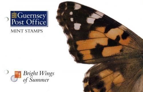 1997 Butterflies & Moths miniature sheet pack
