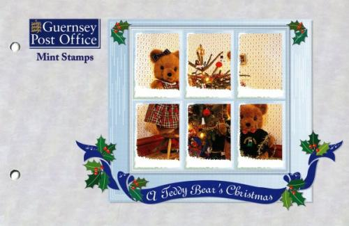 1997 Christmas Teddy Bears pack