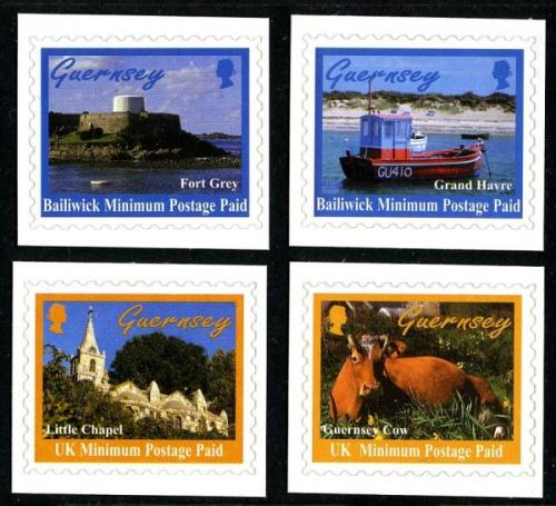 1998 Guernsey Scenes self adhesive