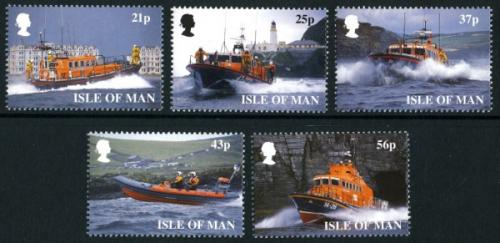 1999 Lifeboat Institution (excludes 2 booklet stamps SG836, SG838)