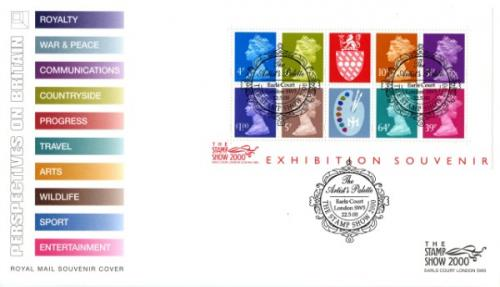 2000 22nd May Stamp Show Miniature Sheet