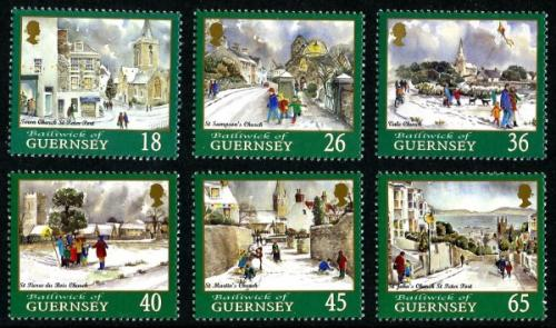2000 Christmas Guernsey Churches