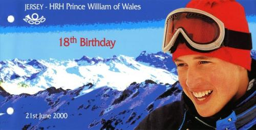 2000 Prince William 18th Birthday pack