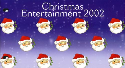 2002 Christmas Entertainment pack