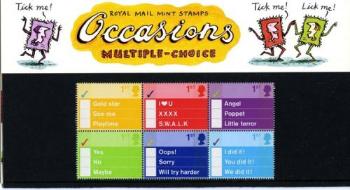 2003 Greeting Occasions pack