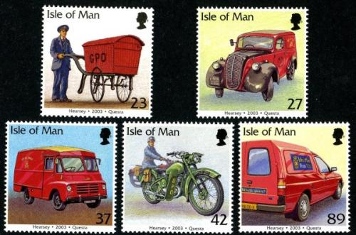 2003 Post Office Vehicles