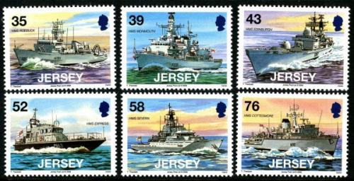 2008 Visiting Jersey Naval Vessels