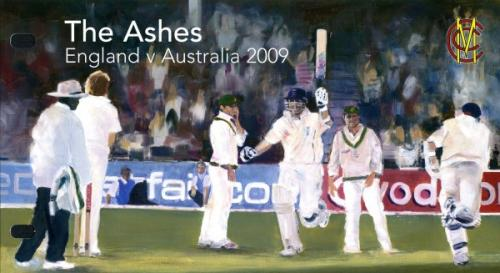 2009 Cricket miniature sheet pack