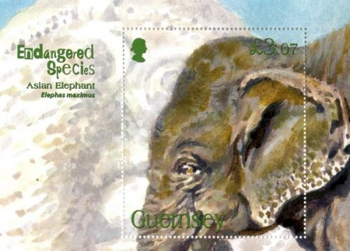 2010 Endangered Elephants MS