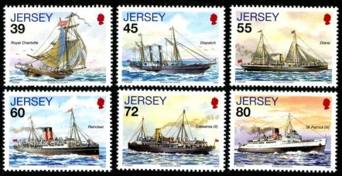 2010 Jersey Mail Ships