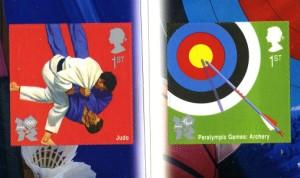 2010 Olympic Judo & Archery self adhesive