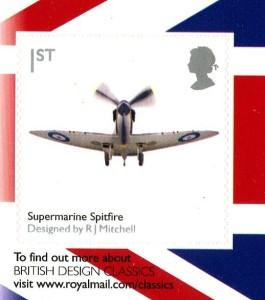 2010 Spitfire self adhesive