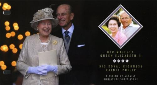 2011 Diamond Jubilee £3 miniature sheet pack